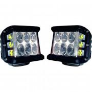 Extreme LED werklamp kubus. 45Watt. Prijs is voor 2 stuks. Set dus.