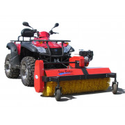 ATV rotary broom for snow and dirt (with Honda 5.5hp onboard engine), model specific mounting plate excl| Artikelnr: 48.0000A| F