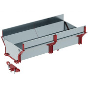 """Optional extra: CARGO BOX addition for timber trailer """"IB 1000"""" 23.0000  Artikelnr: 23.2000  Fabrikant:IRON BALTIC"""