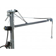"""Crane kit for trailer """"Combo 1000"""", supplied with supporting legs