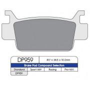 BRAKE PAD DP ATV DP959 | Fabrikantcode: DP959 | Fabrikant: DP BRAKES | Cataloguscode: 1721-0530