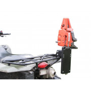 Universal CHAINSAW HOLDER (fitted to ATV rack)| Artikelnr: 14.7000| Fabrikant:IRON BALTIC