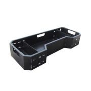 Universal / Polaris cargo box 66L (steel, black) for ATV front or rear rack (also for POLARIS oe racks)| Artikelnr: 56.5000| Fab