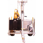 "Accessories / luggage box with chainsaw holder for trailer ""Combo"" crane
