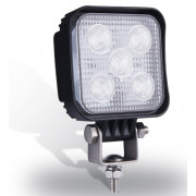 Extreme LED 15W werklamp vierkant. 5x3Watt