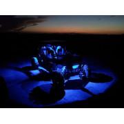 SHARK LED Rock Light,3 inch x2 inch,3W,Multi-Color,Bluetooth Control,4 pcs Set