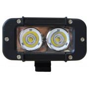 Extreme LEDbalk van 20W 2 x 10W / H 63mm op 116mm