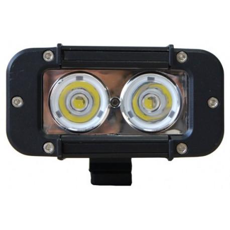 Extreme LEDbalk van 20W 2 x 10W / 63mm op 116mm