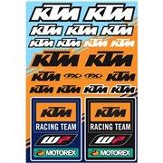 DECAL KIT UNIV KTM RACING / 22-68532
