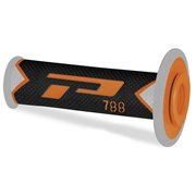 GRIPS TRIPLE DENSITY OFFROAD 788 CLOSED END BLACK/GRAY/ORANGE / PA078800ACGN