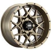 ITP Hurricane Wheel WHL HURCAN 14X7 4/110 BRZ / 1428636729B