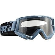 CONQUER OFFROAD GOGGLES STEEL/BLACK ONE SIZE / 2601-1930