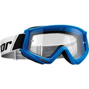 COMBAT OFFROAD GOGGLES BLUE/WHITE ONE SIZE / 2601-2076