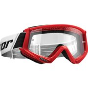 COMBAT OFFROAD GOGGLES RED/BLACK ONE SIZE / 2601-2077