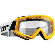 COMBAT OFFROAD GOGGLES YELLOW/BLACK ONE SIZE / 2601-2078