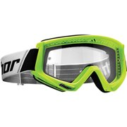 COMBAT OFFROAD GOGGLES FLO GREEN/BLACK ONE SIZE /2601-2080