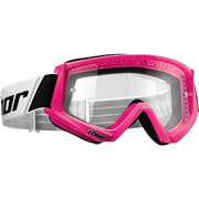 COMBAT OFFROAD GOGGLES FLO PINK/BLACK ONE SIZE / 2601-2082