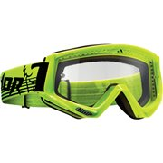CONQUER OFFROAD GOGGLES FLO GREEN/BLACK ONE SIZE / 2601-2089