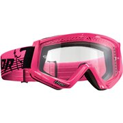 CONQUER OFFROAD GOGGLES FLO PINK/BLACK ONE SIZE / 2601-2091