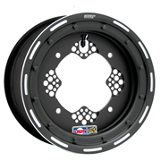 WHEEL FRONT ROK2 10X5 4/156 3B+2N ALUMINUM BEADLOCK POWDER-COATED BLACK