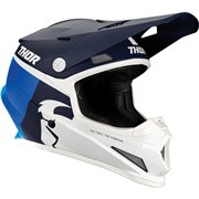 Sector Racer Helmet Blue| White