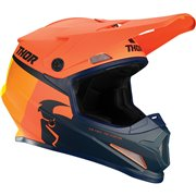 Sector Racer Helmet Black| Orange| Yellow