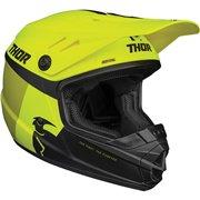 Youth Sector Racer Helmet Fluorescent Yellow| Green| Matte