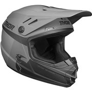 Youth Sector Racer Helmet Black| Gray| Matte