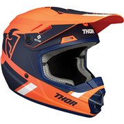 Youth Sector Split MIPS® Helmet Blue| Orange