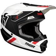 Youth Sector Split MIPS® Helmet Black| White