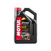 MOTUL ATV sxs power motorolie 4t 10w50 100% synthetisch 4L (1doos)