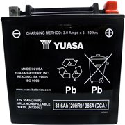 BATTERY YIX® 12V 165 MM X 126 MM X 172,72 MM / YIX30L-BS