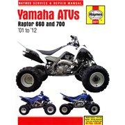 SERVICE MANUAL YAMAHA RAPTOR 660 & 700 A / 2977