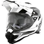 HELMET FX41 RANGE WHITE BLACK