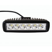 Quadfun led 18W mini lightbar 160*43*63mm (1150 lumens)
