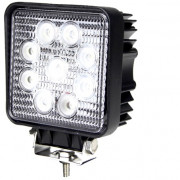 Quadfun led 27W werklamp - vierkant model (2150 lumens)