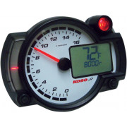 Toerenteller Koso RX2N-R (Artikelnr Koso: BA015000)