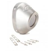 ENDCAP PC4/Q4 S/S STRAIT | Fabrikantcode: 40634 | Fabrikant: FMF | Cataloguscode: 1860-0500