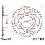 SPROCKET REAR 43T 520 | Fabrikantcode: JTR1478.43 | Fabrikant: JT SPROCKETS | Cataloguscode: 1210-0412