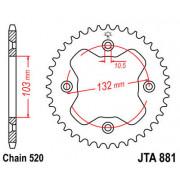REAR SPROCKET 520 38T ALU | Fabrikantcode: JTA881.38 | Fabrikant: JT SPROCKETS | Cataloguscode: 1211-1673