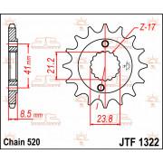 SPROCKET,C/S HONDA 13T | Fabrikantcode: JTF1322.13 | Fabrikant: JT SPROCKETS | Cataloguscode: 1212-0216
