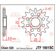 SPROCKET FRONT 14T 520 SC | Fabrikantcode: JTF1901.14SC | Fabrikant: JT SPROCKETS | Cataloguscode: 1212-0514