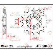 SPROCKET FRONT 13T 520 SC | Fabrikantcode: JTF284.13SC | Fabrikant: JT SPROCKETS | Cataloguscode: 1212-0515