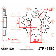 SPROCKET FRONT 15T 520 SC | Fabrikantcode: JTF432.15SC | Fabrikant: JT SPROCKETS | Cataloguscode: 1212-0519