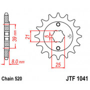 SPROCKET FRONT 14T 520 | Fabrikantcode: JTF1041.14 | Fabrikant: JT SPROCKETS | Cataloguscode: 1212-0778