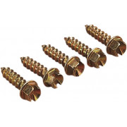 SCREWS GOLD 7/16inch (250)| Artikelnr: 12500053