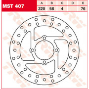 ROTOR TRW MST407| Artikelnr: 17101021