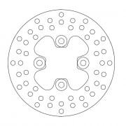 FRONT DISC ROUND YAMAHA | Fabrikantcode: 110166 | Fabrikant: MOTO-MASTER | Cataloguscode: 1711-0880