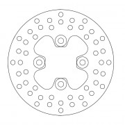 Motomaster Remschijf YAMAHA | Fabrikantcode: 110166 | Cataloguscode: 1711-0880