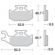 Motomaster Brakepad 0964 | Fabrikantcode: 96411 | Fabrikant: MOTO-MASTER | Cataloguscode: 1721-1719
